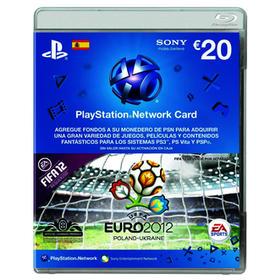 Tarjeta Descarga Playstation Network 20€