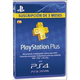 Playstation Plus Suscripcion 90 días