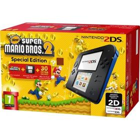 Consola 2Ds Azul + New Super Mario Bros