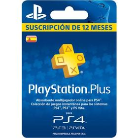 Playstation Plus Sucripcion 365 días