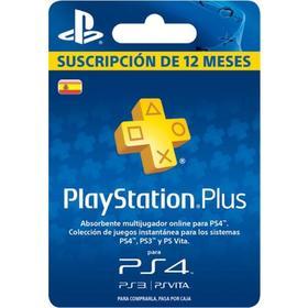 Playstation Plus Sucripcion 365 días