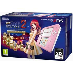 Consola 2Ds Rosa + New Style Boutique 2